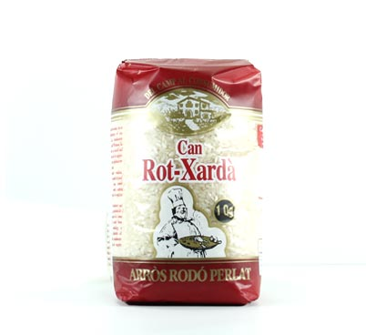 Arròs rodó perlat Rot-Xardà