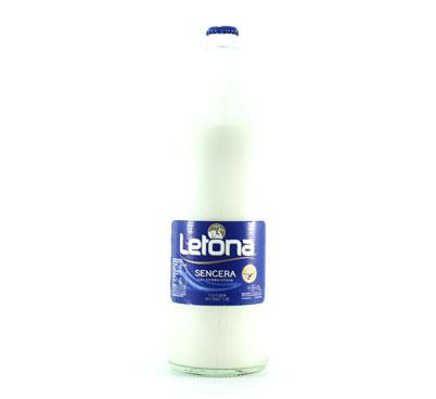 Llet Letona sencera en envàs de vidre