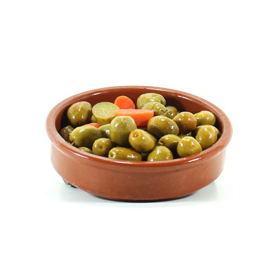 Olives gaspatxes a granel