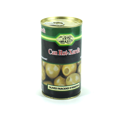 Olives gegants farcides d'anxova Can Rot-Xardà