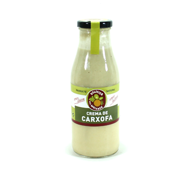 Crema de carxofa, delícies del Moianès