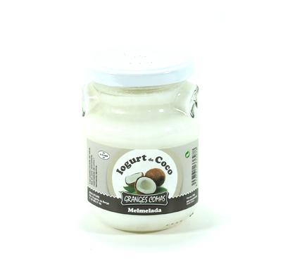 Iogurt natural amb melmelada de coco Granges Comas