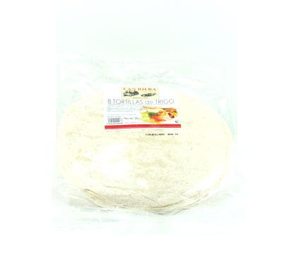 Tortas de blat per fer fajitas mexicanes