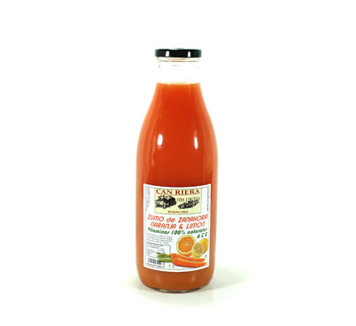Suc de pastanaga, taronja i llimona