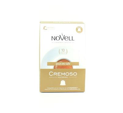 Cafè cremoso, Novell