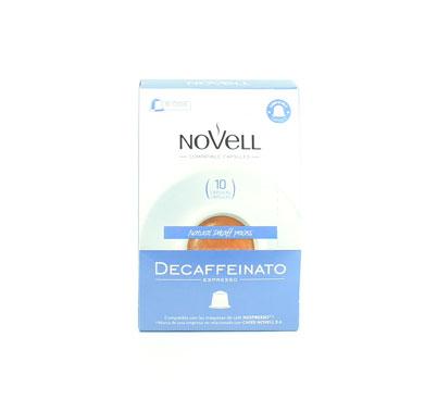 Cafè descafeïnat, Novell