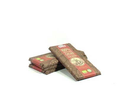 Xocolata  ecològica 100% cacau, Solé