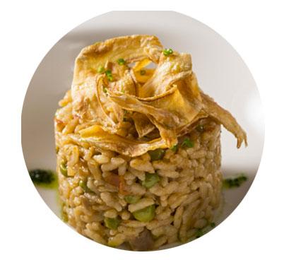 Paella d'arròs amb verdures, Jotri