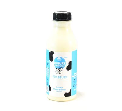 Iogurt ensucrat beure