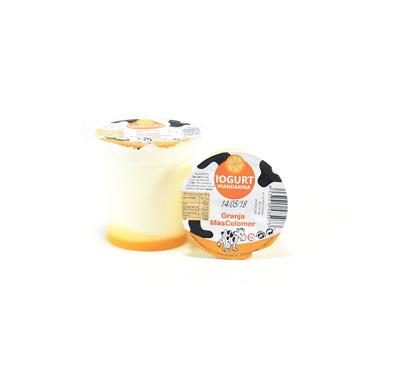 Iogurt amb melmelada de mandarina