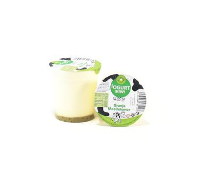 Iogurt amb melmelada de kiwi