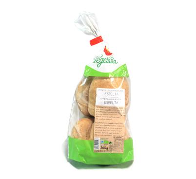Panets per Hamburgueses d'espelta, Vegetalia